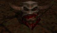 Death Knight gibbed head