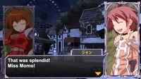 Queen's Gate Spiral Chaos Freetalks Translation- Wonder Momo (2 of 2) (+kiss scene)