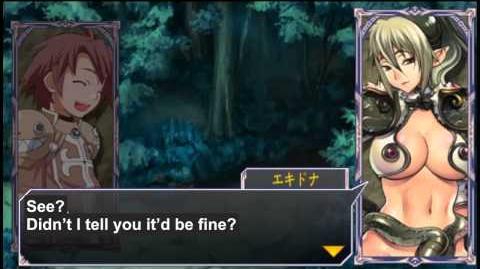 Queen's Gate Spiral Chaos Freetalks Translation Echidna (2 of 2) ( kiss scene)