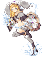 Makina Freezia (Wizard of Blue Magic) transparent