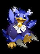 Step Penguin (Indigo) transparent