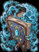 Wizard Book (Azure) transparent