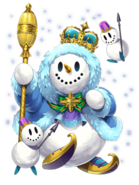 Roger (King of Snow) transparent