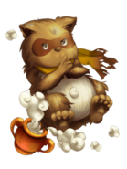 Thunder Raccoon (Lord) transparent