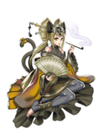Yuugiri (Cat to person metamorphose disciple) transparent