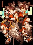 Iri and Jin (Twin Breezes) transparent