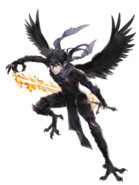 Heat Raven transparent