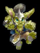 Thunder Goblin transparent