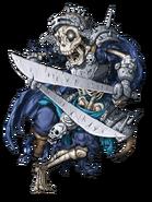 Skeleton Warrior (Blackwater) transparent