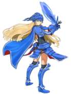 Kutlea the Blue Knight transparent