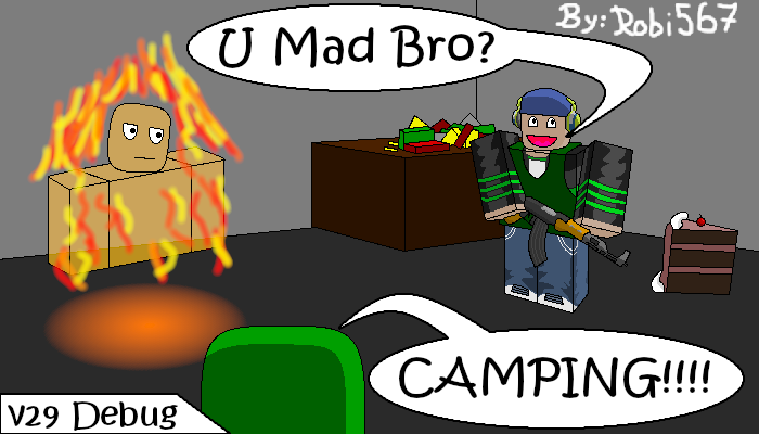 R2D Camping Cake