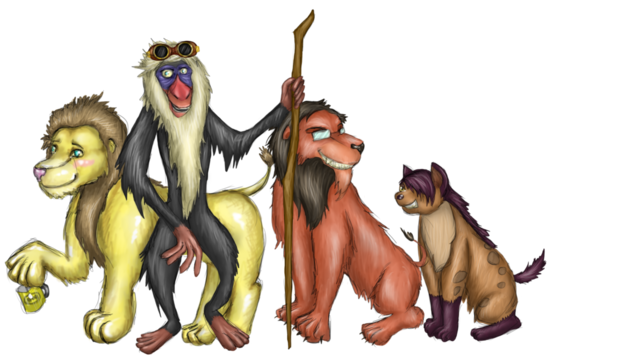 File:The lion king crew by epocalyse-d7dwce3.png