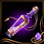 Purple Message Bottle