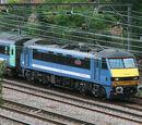 British Railways Class 90 Evening Star