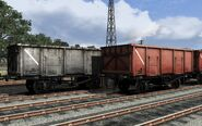 UK Coal Wagons Pack 05