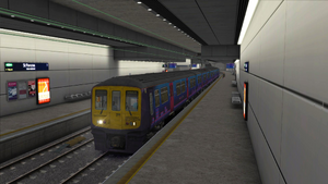 Midland Main Line London to Bedford St Pancras Low Level
