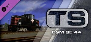 Boston & Maine GE 44 Loco Add-On Add-On Steam header