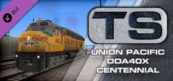 Union Pacific DDA40X Centennial Loco Add-On Steam header