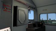 IHH GX Class 489 cab view across