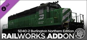 Sd40-2burlington