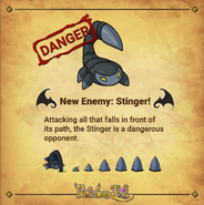 New Enemy Stinger has announced