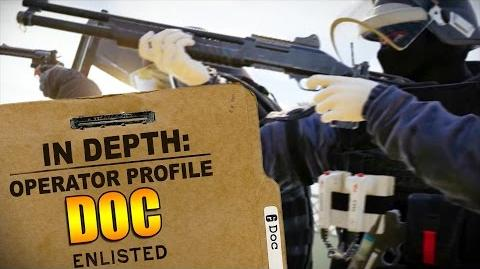 Rainbow Six Siege - Operator Profile DOC-0