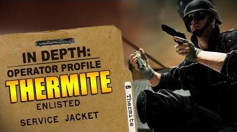 Rainbow Six Siege - Operator Profile THERMITE-2