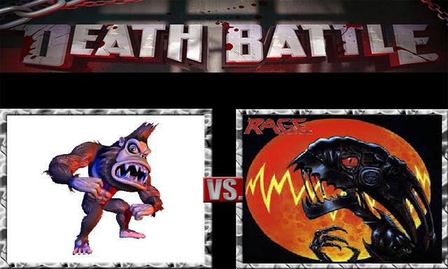 File:DEATH BATTLE Idea - George Vs. Soundchaser.png