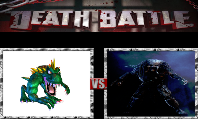 File:DEATH BATTLE Idea - Lizzie Vs. Predator.png