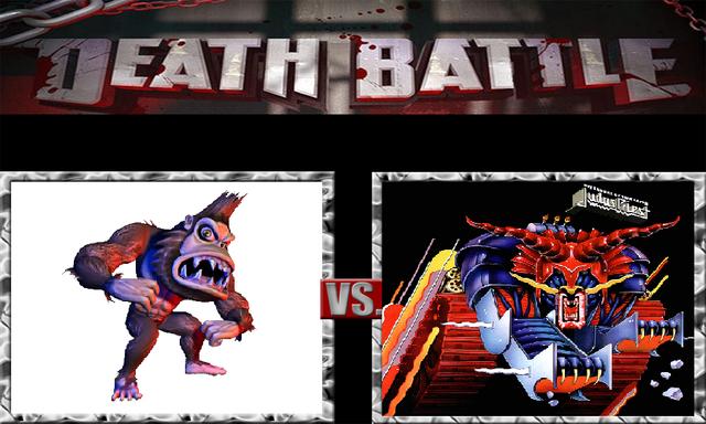 File:DEATH BATTLE Idea - George Vs. Metallian.png