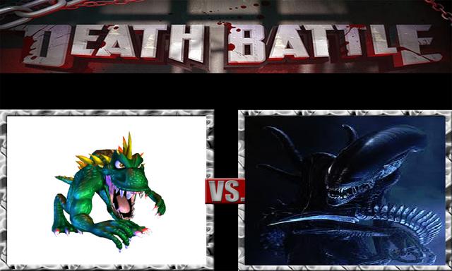 File:DEATH BATTLE Idea - Lizzie Vs. Alien.png
