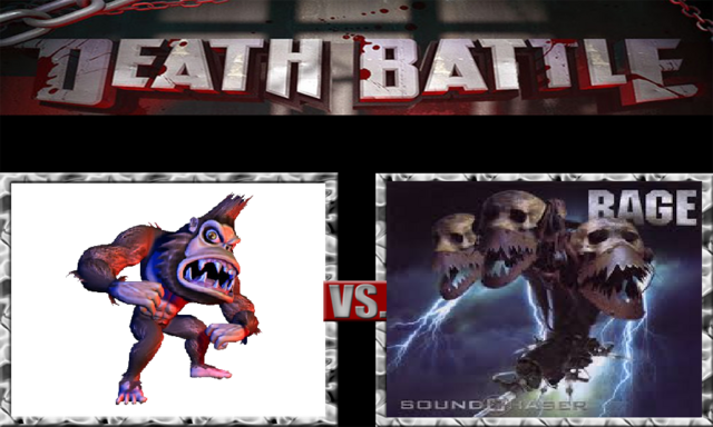 File:DEATH BATTLE Idea - George Vs. Not Soundchaser.png
