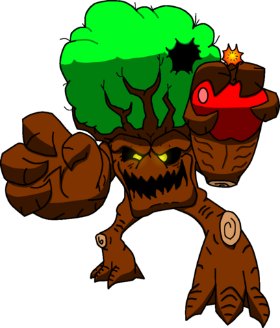 File:Rampage Art Comission - Timmy the Tree.png