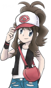 Black white trainer speedpaint by kitsuneinari-d2xgmf3