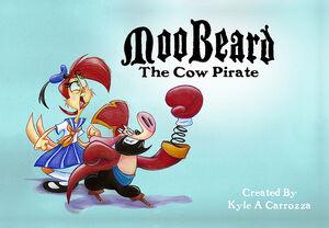 MooBeard The Cow Pirate Title Card