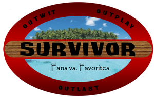 Survivor fans vs favorites newer logo by crazypackersfan-d5yseot