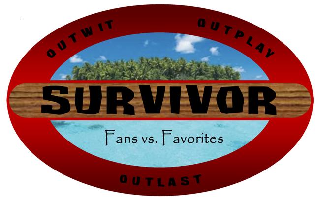 File:Survivor fans vs favorites newer logo by crazypackersfan-d5yseot.png