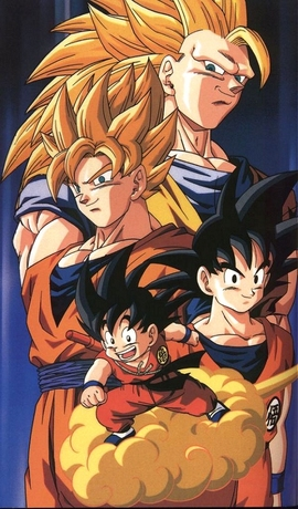 File:Son-goku's Many Appearences.jpg