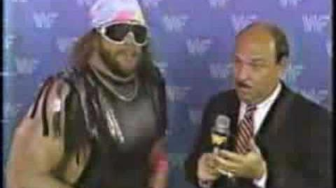 Macho Man on coke