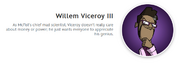 Willem viceroy iii