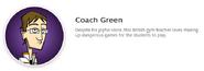 Coach green