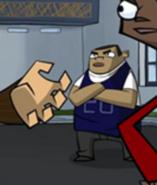 Doug jaminski is black in the first episode