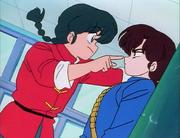 Ranma remembers Ukyo
