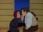 Gendo and Sasuke argue
