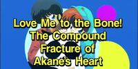 Love Me to the Bone! The Compound Fracture of Akane's Heart