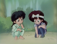 Young Ranma's promise to Ukyo