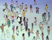 Ryoga arrives - Obstacle race