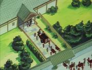 Kodachi's caravan arrives