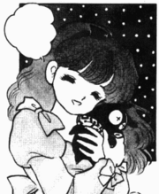 Azusa finds P-chan