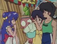 Ranma presents Happosai